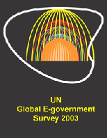 Global e-Government Survey 2003: e-Government at the Crossroads
