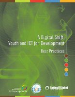 A Digital Shift: Youth and ICT for Development