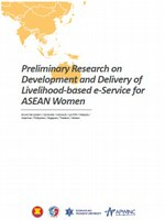 Preliminary Research on Development and Delivery of Livelihood-based e-Service for ASEAN Women