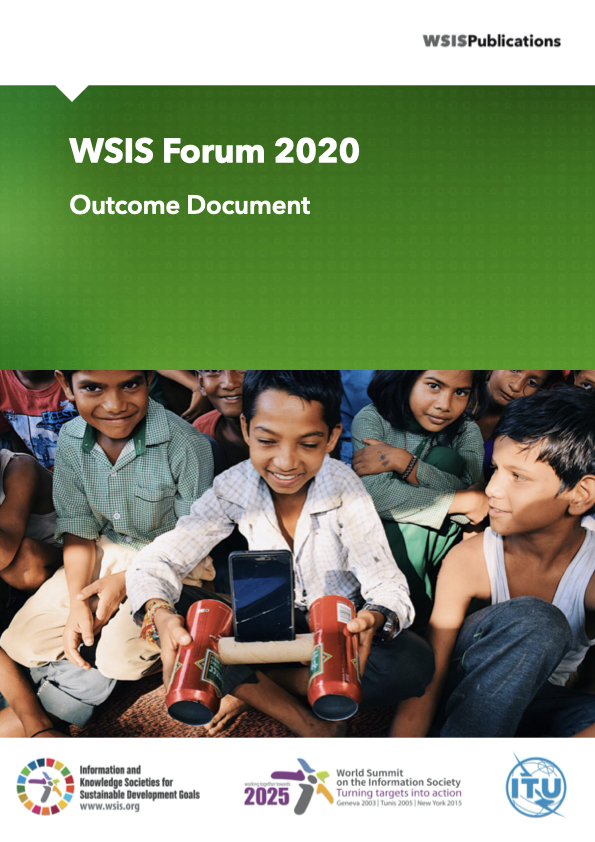Outcome Document WSIS Forum