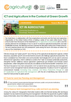 ICT and Agriculture in the Context of Green Growth