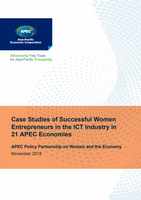 Case Studies of Successful Women Entrepreneurs in the ICT Industry in 21 APEC Economies